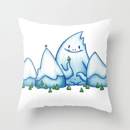 hide-out Throw Pillow