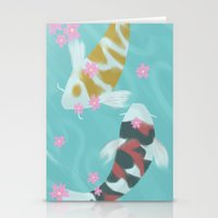 ying yang Stationery Cards featuring Ying/Yang by mattjamie