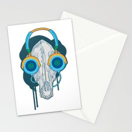 Tune of Teal Stationery Cards