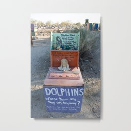 Dolphin Overloards Metal Print