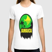 jamaica T-shirts featuring JAMAICA VACATION  by Robleedesigns