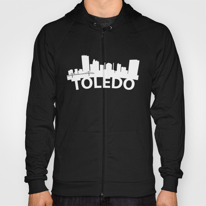 Curved Skyline Of Toledo OH Hoody