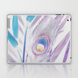 Pastel Peacock Laptop & iPad Skin