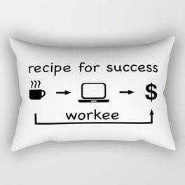 Recipe for success Rectangular Pillow