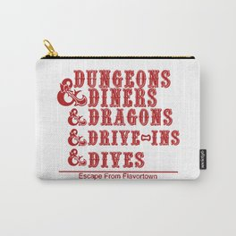 dungeons and dragons red box Carry-All Pouch