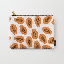 Papaya Tropical Carry-All Pouch