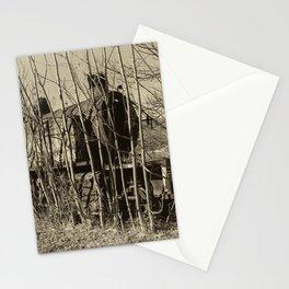 Pochino steam dereliction Stationery Cards
