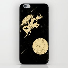 Space Cow iPhone Skin