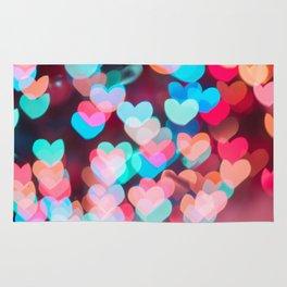 love backround on Valentine's day Rug