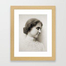 Helen Keller, c. 1904 Framed Art Print