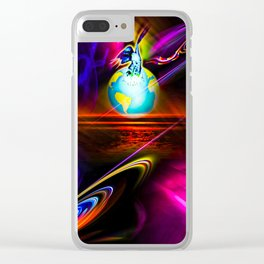 Apocalypse - now - Our world is a magic Clear iPhone Case
