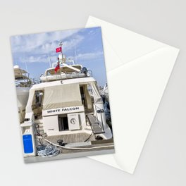 Falcon 102 SuperYacht Stationery Cards