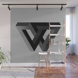 The W Wall Mural
