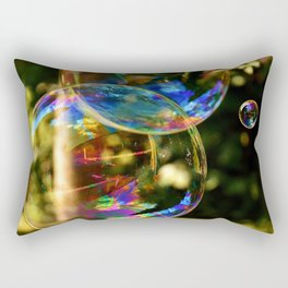 Bubbles | Bulles Rectangular Pillow