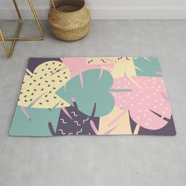 Soft leaves Rug