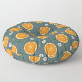 Aliño de naranjas Floor Pillow
