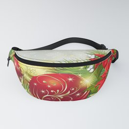 Holiday Christmas Artistic Christmas Ornaments Poi Fanny Pack