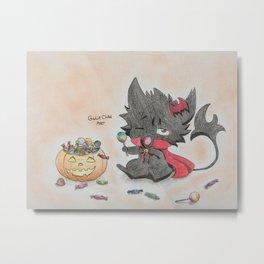 Servamp - Halloween Metal Print