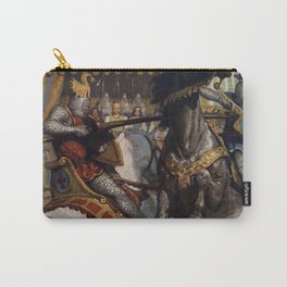 Knights jousting Carry-All Pouch