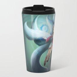Ahri League of Legends Chibi Travel Mug