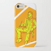 nietzsche iPhone & iPod Cases featuring The Dawn of Nietzsche by Duessa