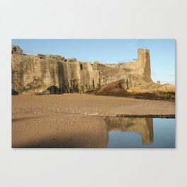 Castle on the Sand Canvas Print