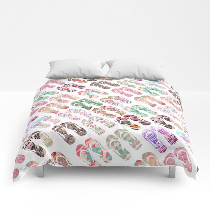 Flip-Flops in Style Comforters