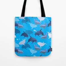 Aquaflage Tote Bag