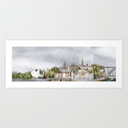 Porto landscape Art Print