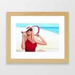 Sunshine Summer Framed Art Print