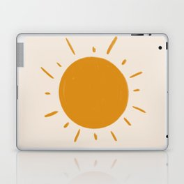 painted sun Laptop & iPad Skin
