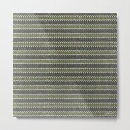 Cactus Garden Knit 1 Metal Print