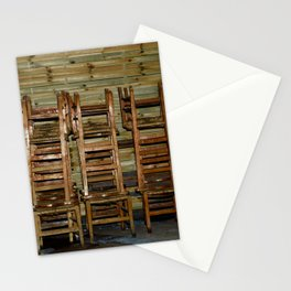 Church Chairs Stationery Cards