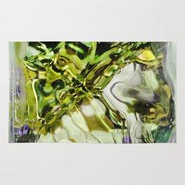 432 - abstract glass design Rug