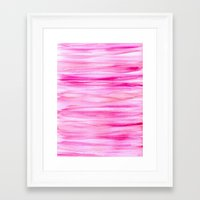 hot pink Framed Art Prints featuring Hot pink by Retro Love Photography