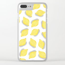 Life gives you lemons Clear iPhone Case