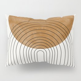 Abstract Flow Pillow Sham