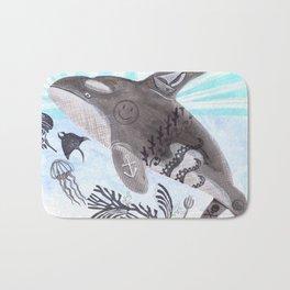 Killer Whale Ishmael Bath Mat