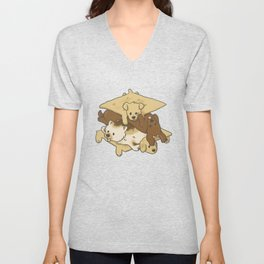 S'mores Puppies Unisex V-Neck