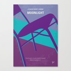 No757 My Moonlight minimal movie poster Canvas Print