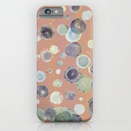 terra cotta sea glass iPhone Case