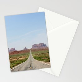 Monument Valley Horizontal Stationery Cards