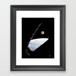 GO for TLI Framed Art Print