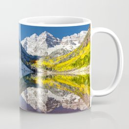 Maroon Bells Colorado Coffee Mug