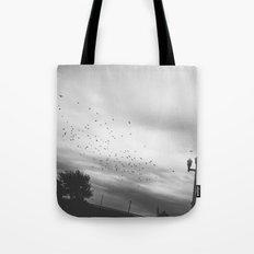 Birds In Flight Tote Bag