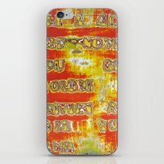 Pickup Lines - Pulp Fiction iPhone & iPod Skin