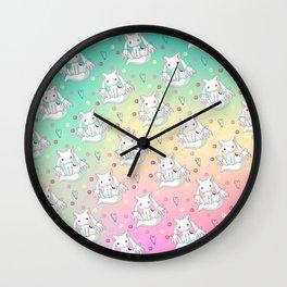 Kyubey Pattern Wall Clock
