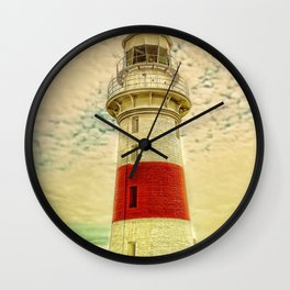 Low Head Lighthouse Wall Clock