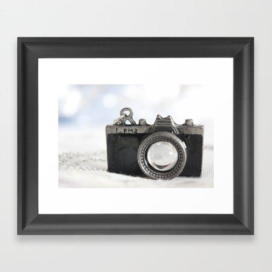 little camera Framed Art Print