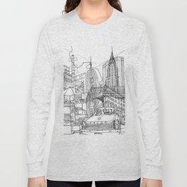 New York! B&W Long Sleeve T-shirt